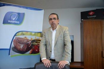 Marcelo Secco, CEO de Marfrig, explicó la estratégica inversión que el grupo realizó.