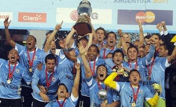 La última vez que Uruguay ganó la Copa América fue en 2011 en Argentina