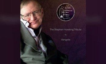Los asistentes al servicio en memoria de Hawking recibirán una copia del CD con las palabas del físico acomañadas de la música de Vangelis.