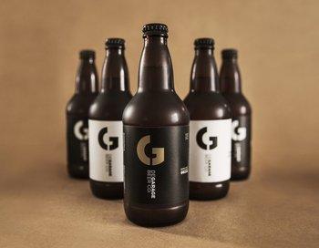 <b>BAR diseño</b><br>Etiquetas para el emprendimiento de cerveza artesanal uruguayo. <br>
