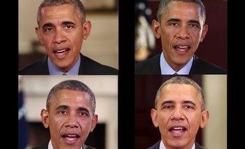 Este Barack Obama parece el auténtico, pero no lo es.