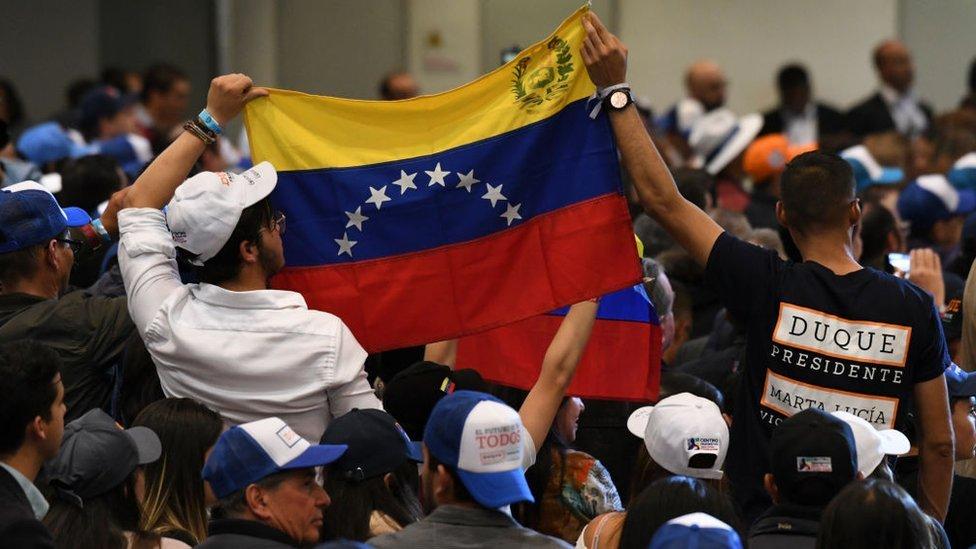 Venezuela acusa a EEUU y Colombia de intentar vulnerar su soberanía