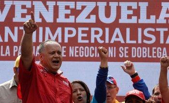 Diosdado Cabello es considerado como uno de los líderes oficialistas más radicales contra la oposición.