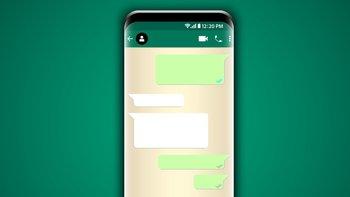 Los mensajes ocultos no se ven cuando la pantalla está bloqueda.