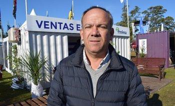 Álvaro Quintans, productor lechero en Lavalleja y presidente de Prolesa.<br>