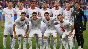 El equipo suizo venció a Serbia 2 -1.