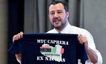 El ministro de Interior italiano, Matteo Salvini, afirmó que su país no volverá a admitir barcos con inmigrantes rescatados.