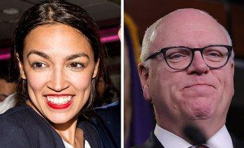 Alexandria Ocasio-Cortez dio la sorpresa al vencer al veterano Joe Crowley en las primarias demócratas al Congreso en su distrito de la ciudad de Nueva York.