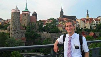 Sheppard se fue de misionario a Alemania en 2011.