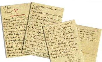 La carta fue enviada a su hermana el día 28 de marzo del año 1933