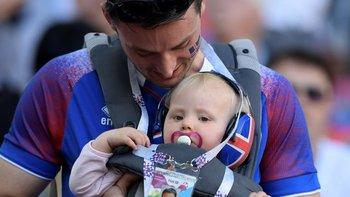 ¿Fue esta bebé islandesa una nullhija de la Eurocopa 2016null?