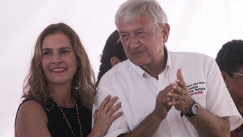 La esposa de López Obrador, Beatriz Gutiérrez Müller, propuso eliminar la figura de primera dama.
