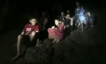 Los menores fueron localizados a salvo luego de pasar 9 días al interior de la cueva.