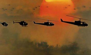 <i>Apocalypse Now</i>, un clásico del cine bélico, dirigida por Francis Ford Coppola en 1979