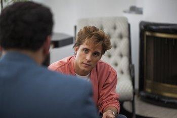 Diego Boneta interpreta a Luis Miguel en la serie homónima<br>