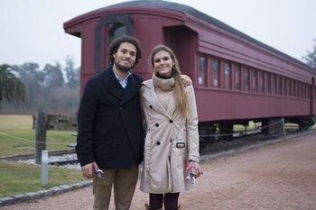 José Manuel Bouza y Sofia Knüppel
