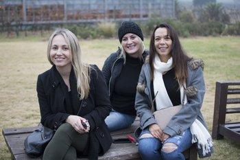 Viviana Medeiros, Vanessa Kokott y Rose María Silva