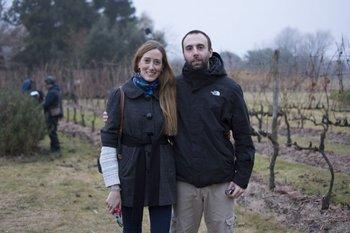 Valentina Congo e Ignacio Losada