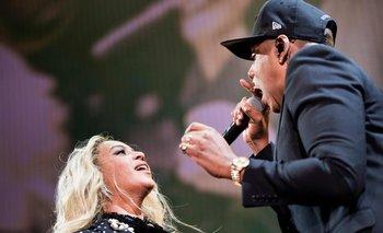 Beyoncé y Jay-Z<br>