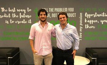Diego Abreu y Agustín Calvo, fundadores de Wannaclap