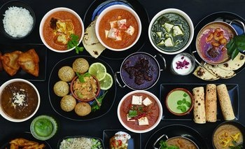 Algunas de los platos que se pueden encontrar en el restaruante de Aparna Soni, Moksha <br>