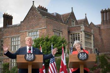 Los mandatarios dieron un mensaje conjunto en el que aseguraron que la relación entre sus países están en nullsu más alto nivelnull.