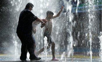 Las altas temperaturas se han dado incluso en regiones donde es temporada de invierno.