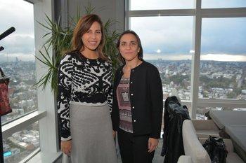 Glorimar Riedweg y María Lidia Fraschini