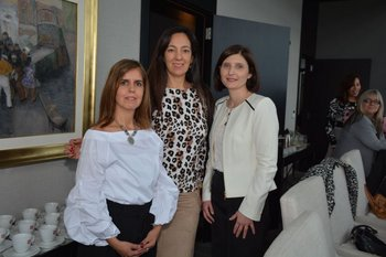 Elena Guerra, Mónica González y Luciana Andion