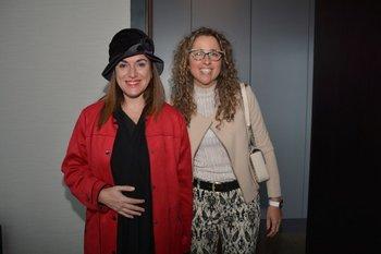 Anabela Aldaz y Carla Collazo