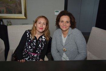 Jenifer Alfaro y Alejandra Manso