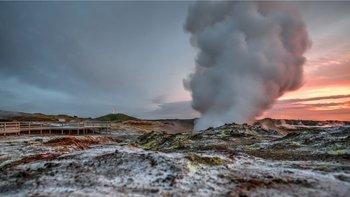 El estudio se realizó en la región geológicamente activa de Reykjanes, Islandia.
