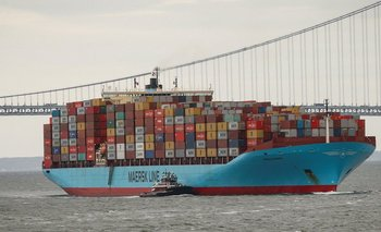 Maersk controla 19% del transporte marítimo del mundo.