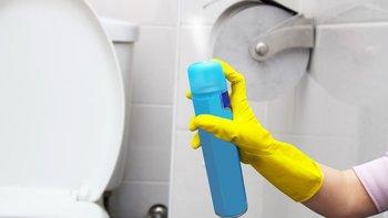 ¡Cuidado con los productos de limpieza que usas!