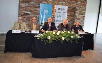Benjamín Liberoff, Enzo Benech, Álvaro Díaz Nadal, Luis Fernández y Pablo Zerbino.<br>