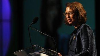 Abigail Johnson, jefa del fondo de inversiones Fidelity Investments, es una de las pocas mujeres dentro de la lista de las personas más ricas en Estados Unidos.