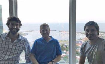 Los fundadores de NocNoc: Joaquin Colella, Ilan Bajariia, Diego Szilagyi