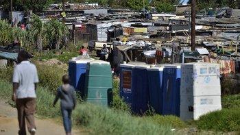 Diepsloot es una de las ciudades más pobres de Sudáfrica con altos índices de desempleo y pobreza