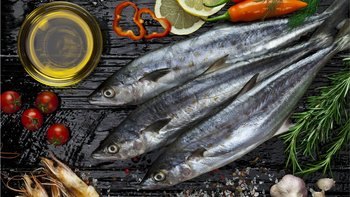 El pescado es fundamental en la dieta de los esquimales.