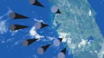 En las imágenes mostradas en marzo se veía un grupo de misiles apuntar hacia lo que parece ser la península de Florida.