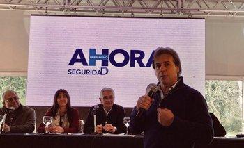 Luis Lacalle Pou este domingo durante el Congreso Nacional del Herrerismo