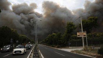 El primer ministro griego, Alexis Tsipras, dijo que nulltodas las fuerzas de emergencia han sido movilizadasnull.