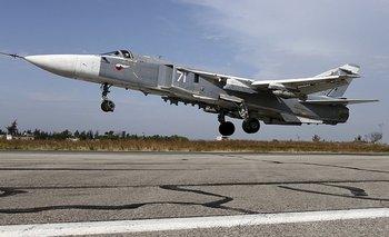 Israel afirma que se trataba de un cazabombardero Sukhoi, como el que se muestra en esta imagen.