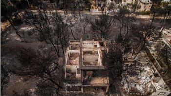Algunos barrios han quedado completamente destruidos.