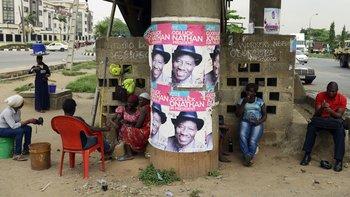 En 2014 el presidente nigeriano Goodluck Jonathan firmó una ley que prohibía el matrimonio entre personas del mismo sexo.