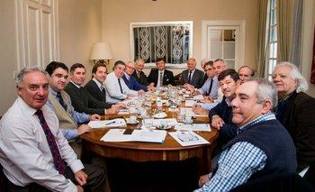 Varios directivos de gremiales de Uruguay participaron en la reunión de la FARM.<br>