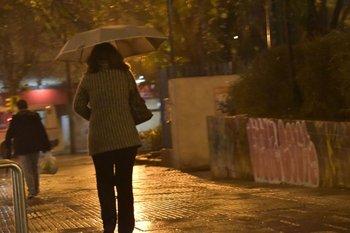 Jueves 26. Retrato de un día de lluvia.