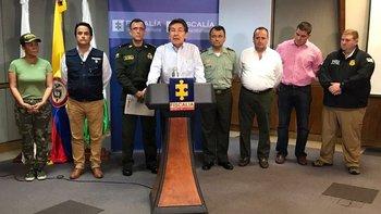 La fiscalía colombiana ponderó que el operativo fue coordinado con varias entidades del orden de ese país.