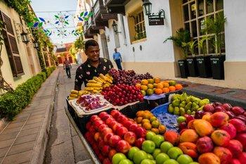 En meses de temporada alta, hasta 300.000 personas visitan Cartagena.
