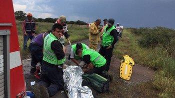 Todos los ocupantes de la aeronave lograron sobrevivir al accidente.